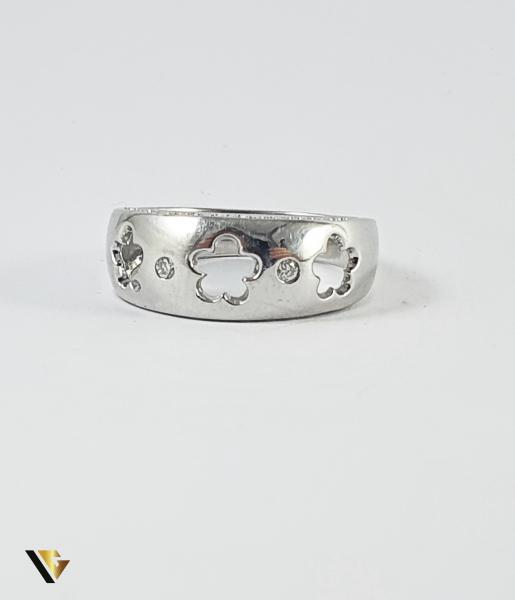 Inel Aur 14k, Diamante de cca 0.14 ct in total, 4.77 grame (P) 1