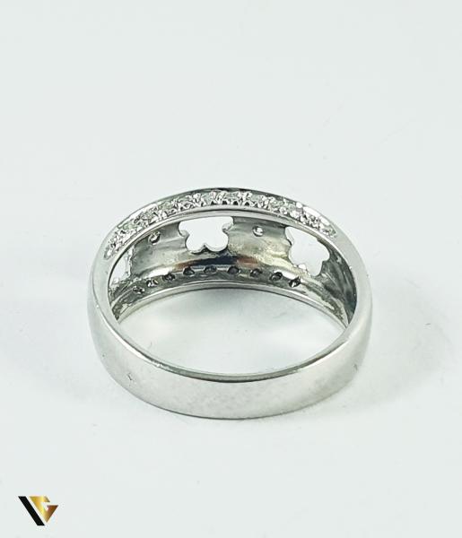 Inel Aur 14k, Diamante de cca 0.14 ct in total, 4.77 grame (P) 2