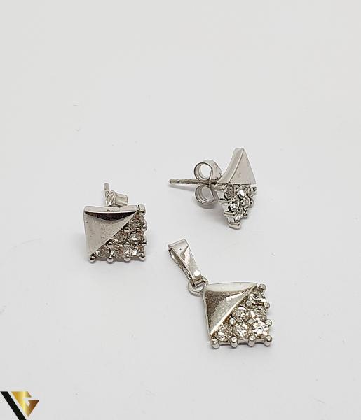 Set Pandantiv si Cercei Argint 925, 3.80 grame (IS) 1