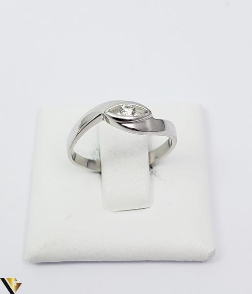 Inel Aur 14k, Diamant de cca 0.06 ct, 2.28 grame (TG) [1]