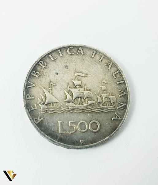 500 Lire, Italia, 1960, Argint 835, 10.95 grame (P) 1