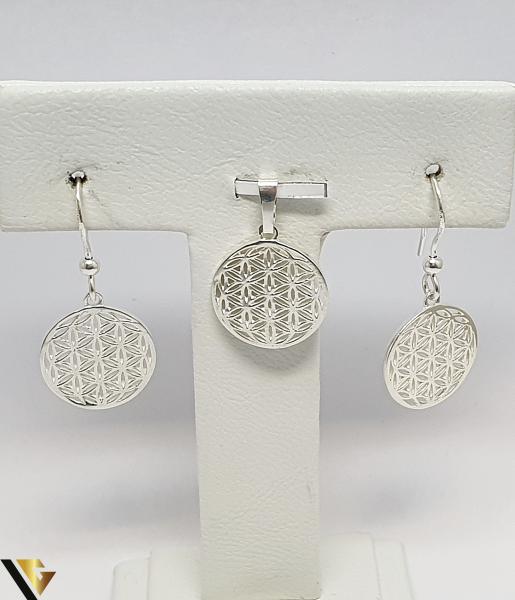 Set Pandantiv si Cercei Argint 925, 6.36 grame (IS) 0
