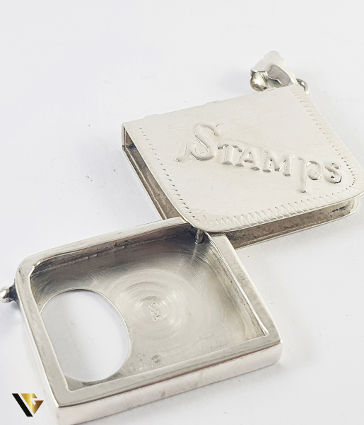 Pandant Argint 925,Stamps Locket,  16.55 grame (P) [1]