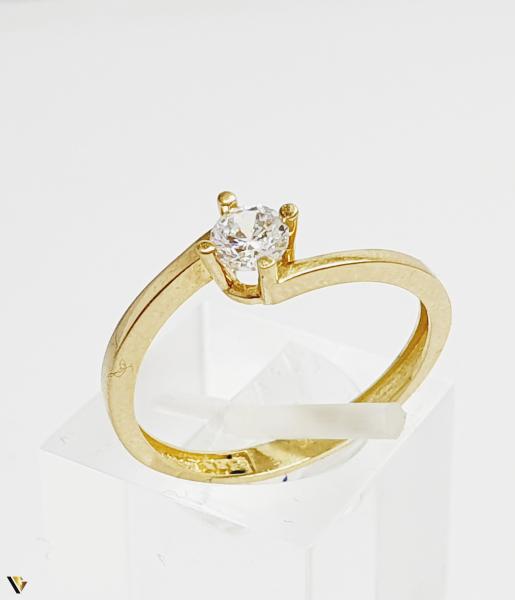 Inel din aur 14k, 1.67 grame (BC M) 0