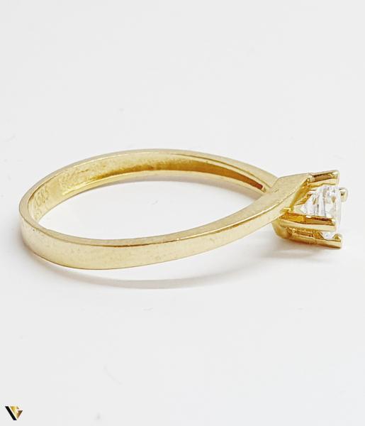 Inel din aur 14k, 1.67 grame (BC M) 1