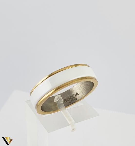 Inel BOCCIA, din titan aurit (R) [0]