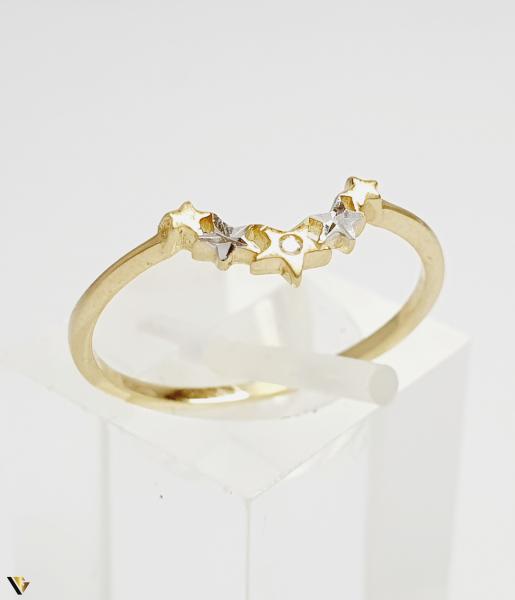 Inel din aur 14k , 0.96 grame (BC M) 0