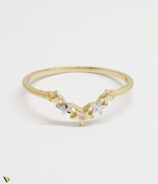 Inel din aur 14k , 0.96 grame (BC M) 1