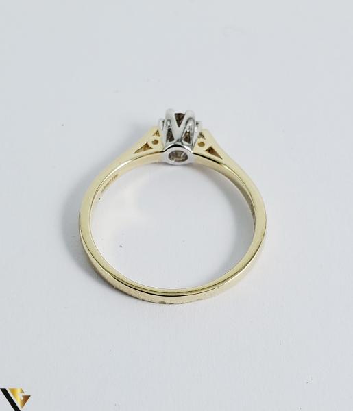 Inel logodna aur 9k, Diamant 0.33 ct, 2.12 gr (R) [1]
