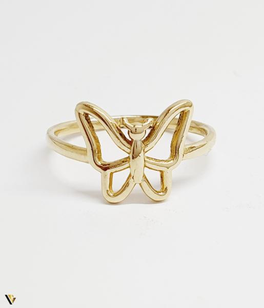 Inel din aur 14k , 2.47 grame (BC M) 2