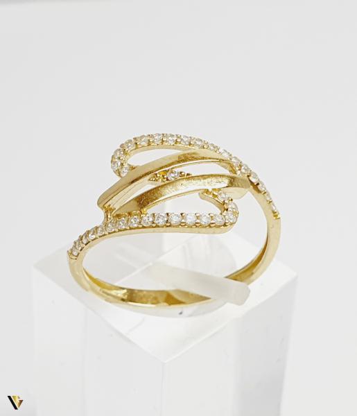 Inel din aur 14k , 1.58 grame (BC M) 0