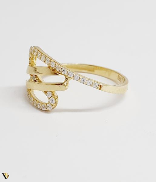 Inel din aur 14k , 1.58 grame (BC M) 1