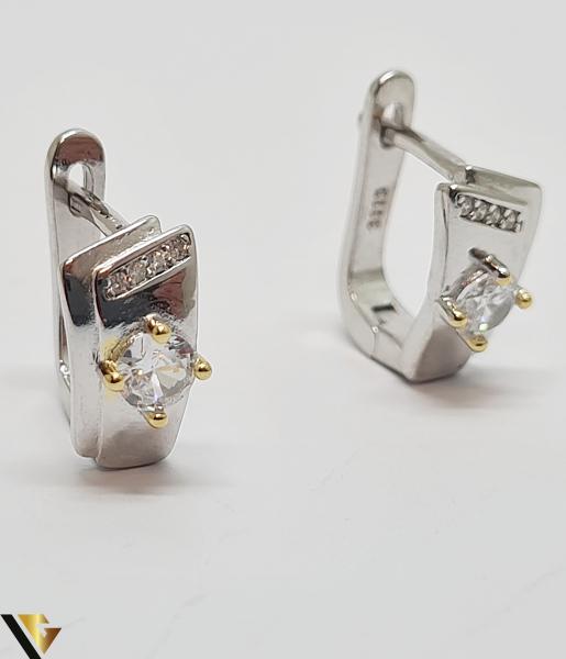 Set Inel si Cercei din Argint 925, 6.10 grame (IS) 1