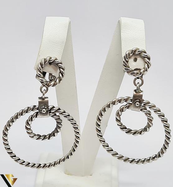 Cercei argint 925, 17.09 gr (IS) 0