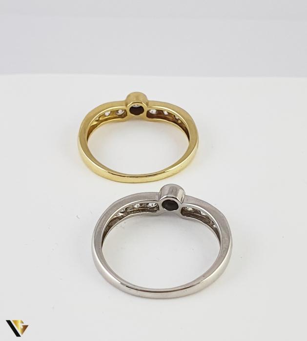 Set Inele Aur 18k, 4.54 grame (R) 7