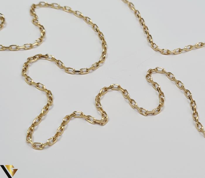 """Lant din aur 9k, 375 4.28 grame Lungime de 50 cm Latime de 2.0 mm Marcaj cu titlul """"375"""" Locatie HARLAU 2"""