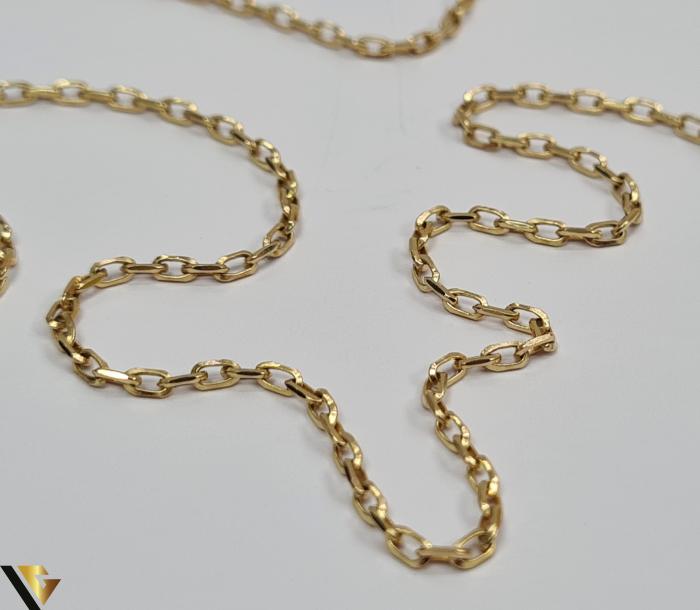 """Lant din aur 9k, 375 4.28 grame Lungime de 50 cm Latime de 2.0 mm Marcaj cu titlul """"375"""" Locatie HARLAU 1"""