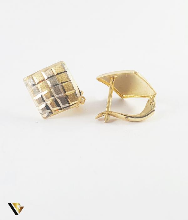 Cercei Aur 14k, 1.77 grame (P) [0]