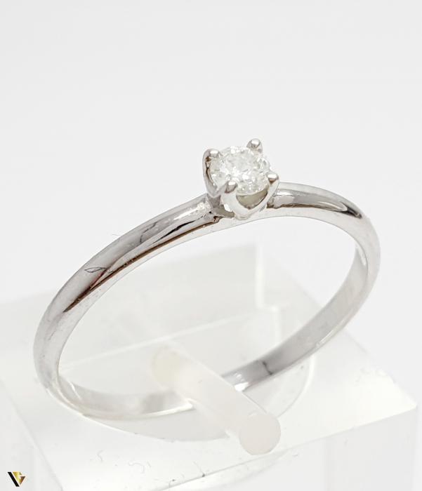 Inel aur 9K, Diamant de 0.08 ct, 1.05 grame (BC M) [0]