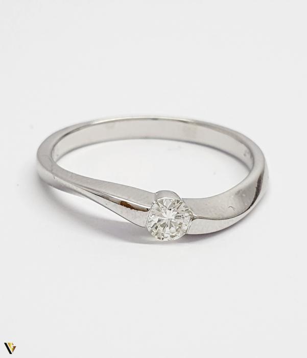 Inel aur 18K, Diamant de 0.16 ct, 2.29 grame (BC M) [1]