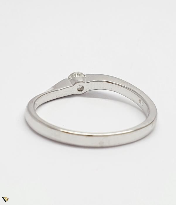 Inel aur 18K, Diamant de 0.16 ct, 2.29 grame (BC M) [2]