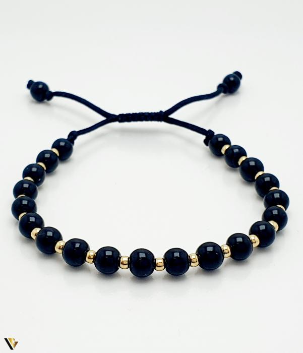 Bratara Aur 14k, Snur textil, 1.35 grame (BC M) [0]