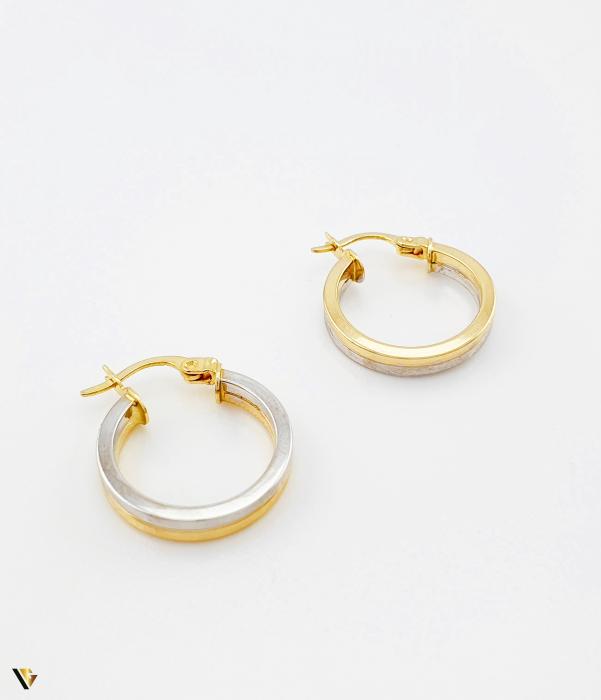 Cercei aur 14K , 2.05 grame (BC M) [1]