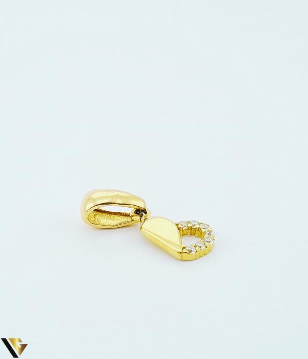 Pandantiv Aur 14K, Inima, 0.81 grame (BC R) [1]