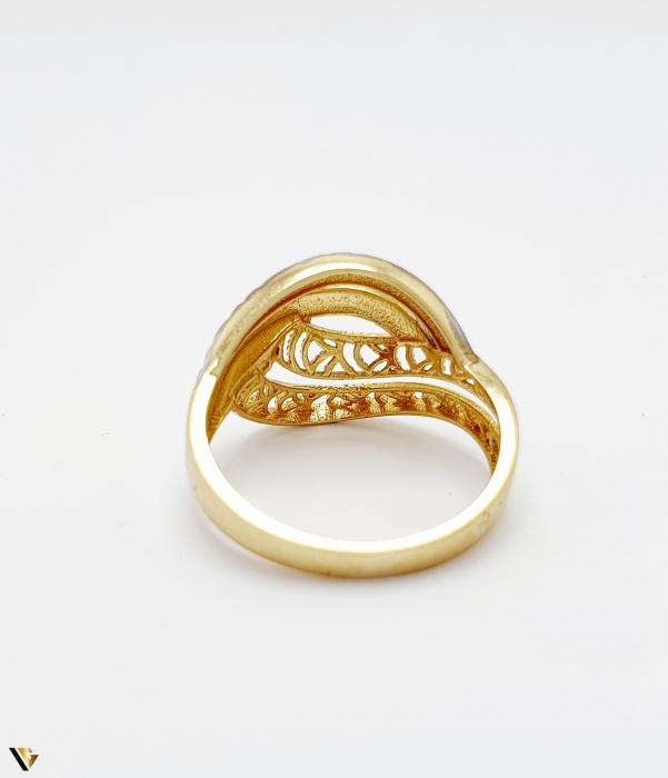 Inel din aur 14k , 2.41 grame (BC M) [3]