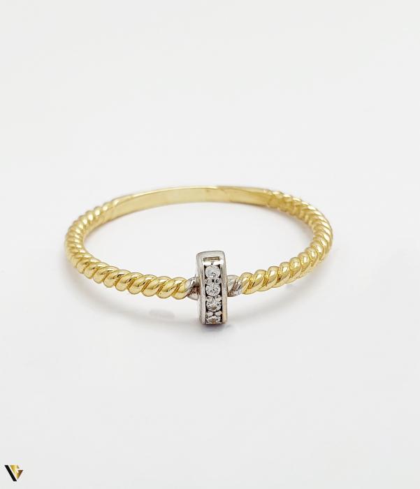 Inel din aur 14k , 1.57 grame (BC M) [1]