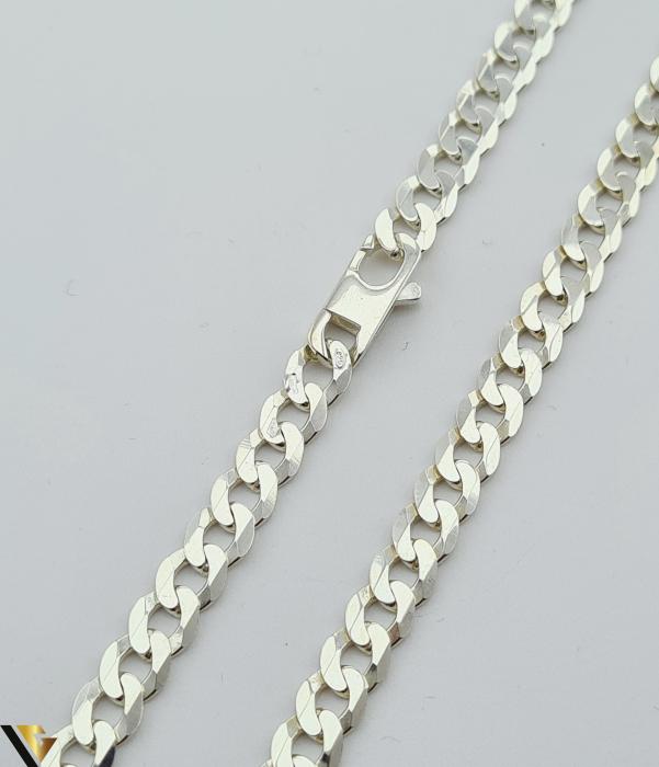 """Lant din argint 925 20.75 grame Lungime de 54cm Latime de 5.6mm Marcaj cu titlul """"925"""" Locatie HARLAU [1]"""