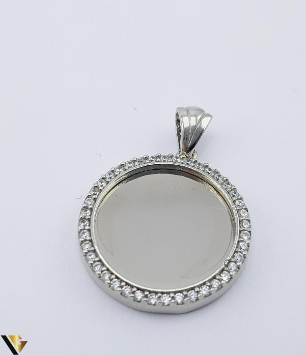 Pandantiv cu Oglinda Argint 925, 3.67 grame (PD) [0]