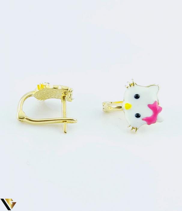 Cercei Aur 14K, copii, Hello Kitty, 1.53 grame  (BC R) [1]