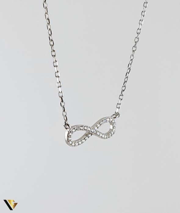 Colier Argint 925, 1.77 grame (R) infinit karma destin [0]
