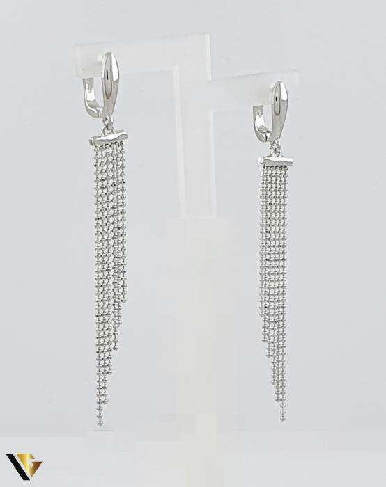 Cercei argint 925, 5.15 grame (R) lung lant [0]