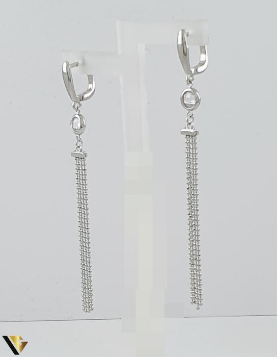 Cercei argint 925, 5.43 grame (R) lung lant [2]