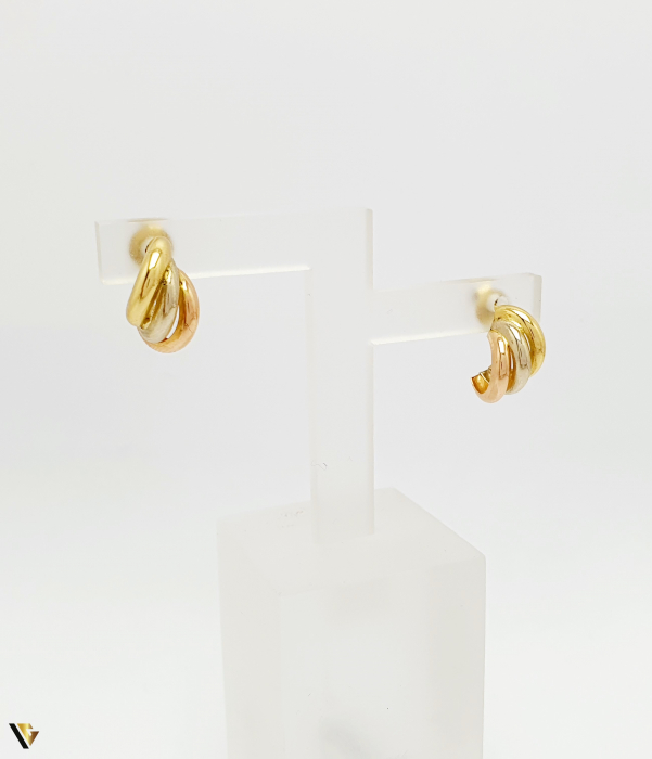 Cercei aur 18K , 1.74 grame (BC M) [0]