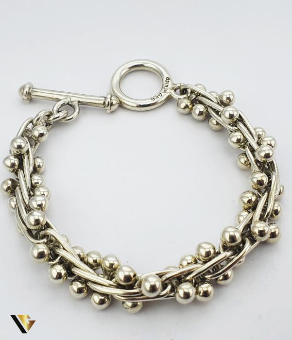 Set Bratara si Cercei Argint 925, 65.66 grame (P) [2]