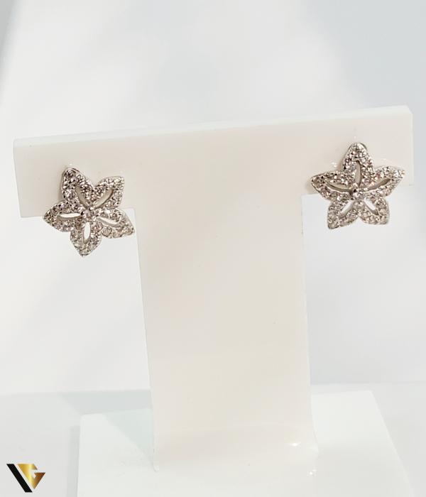 Cercei argint 925, 0.84 grame (R) stea [0]