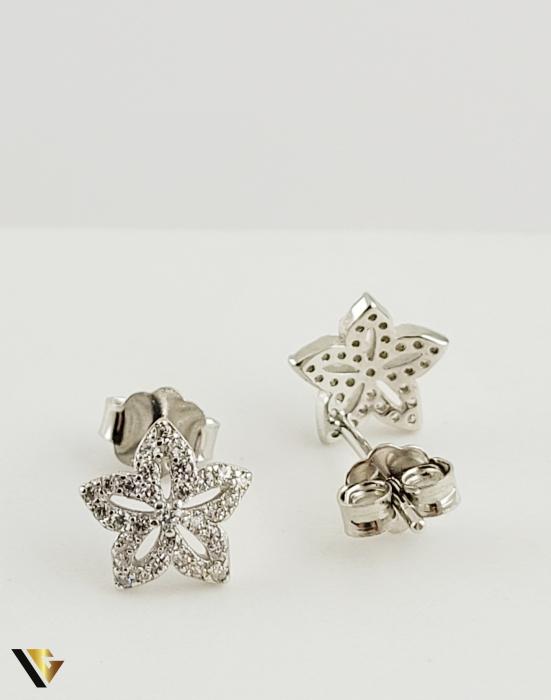 Cercei argint 925, 0.84 grame (R) stea [1]