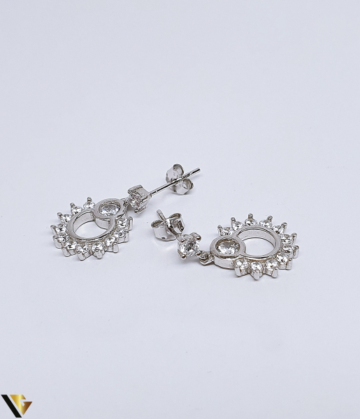 Cercei Argint 925, 2.81 grame (BC R) 1