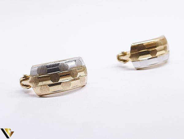 Cercei Aur 14K, 1.52 grame (BC R) 2