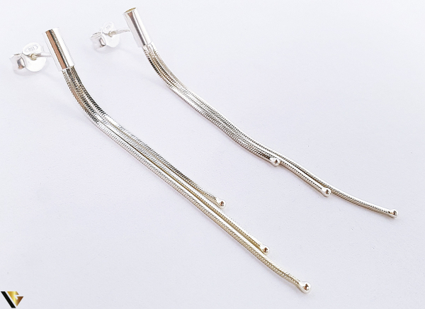 Cercei Argint 925, 2.63 grame (BC R) 1