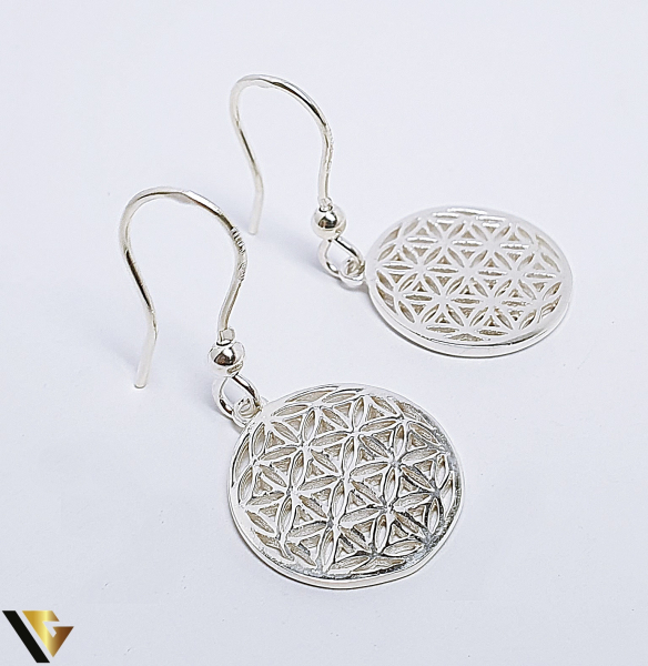 Cercei Argint 925, Mandala, 4.42 grame (BC R) 1