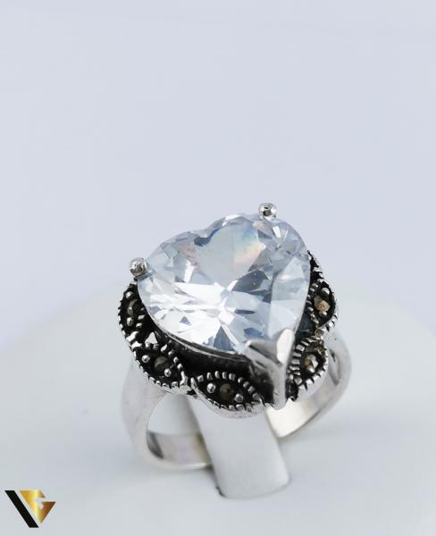 Inel Argint 925, Inima, 10.60 grame (R) 0