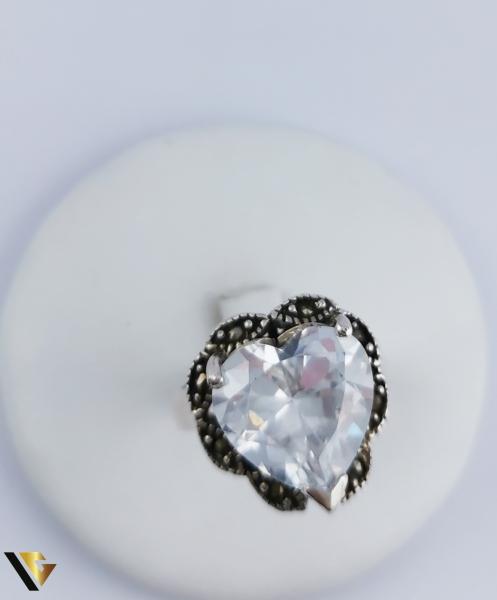 Inel Argint 925, Inima, 10.60 grame (R) 1