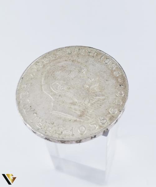 25 Schilling , Austria 1958, Argint 800, 12.85 grame (R) 1