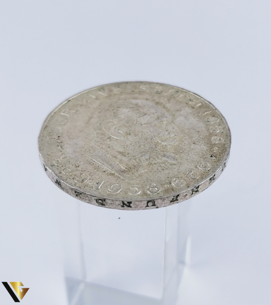 25 Schilling , Austria 1958, Argint 800, 12.85 grame (R) 2