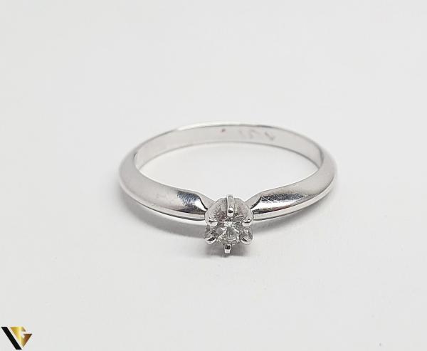 Inel Aur 14k, Diamante, 1.90 grame (BC R) 1