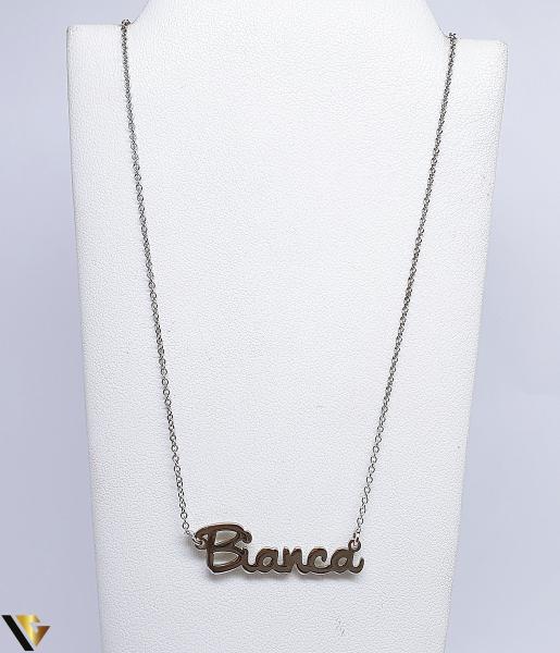 "Lant cu nume ""Bianca"", Argint 925, 2.36 grame (BC R) [0]"